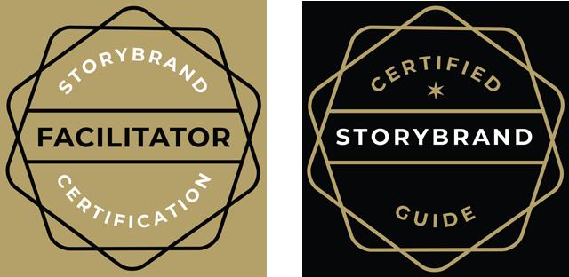 StoryBrand certified badges